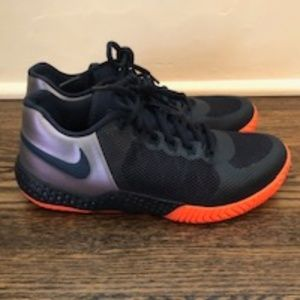 Nike Tennis Sneakers Flare 2 HC Black/Orange
